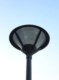 Street light on sky Stock Photography