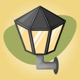 Street light colorful icon Stock Photo