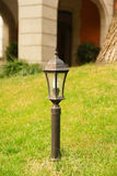 Street light in the garden in Vertical composition Stock Photography