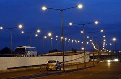 STREET LIGHT. An image of street light on blue sky Stock Photography