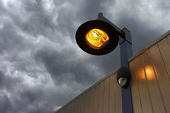 Street light lamps Royalty Free Stock Images
