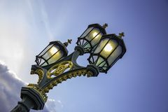 Street Light in London stock photo