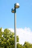 Street light metal pillar Stock Photos