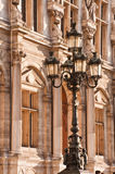 Street light in Paris Stock Photos