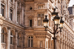 Street light in Paris Stock Image