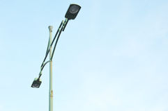 Street light poles Royalty Free Stock Photo