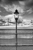 Street light on the promenade Stock Photos