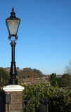 Street light in Rye, East Sussex, England Royalty Free Stock Images