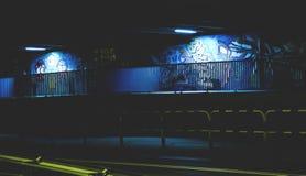 Street light s and graffiti