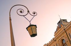 Street light in Saint-Petersburg Stock Images