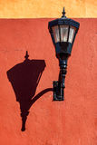 Street Light and Shadow Stock Photo