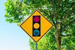 Street light sign stock photography