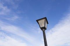 Street light. Urban Lamp light from below Stock Photo