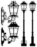 Street light vector royalty free illustration
