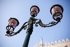 Street light in Venice Royalty Free Stock Photos
