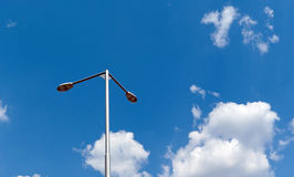 Street lighting Royalty Free Stock Photo