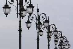 Street lighting. In the city, lantern Royalty Free Stock Images