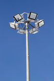 Street lighting equipment Royalty Free Stock Photography