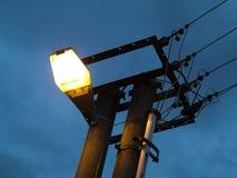 Street lighting lamp Royalty Free Stock Photo