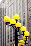 Street lights. Stock Photo