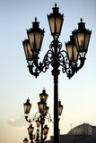 Street lights Royalty Free Stock Photos