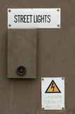 Street lights box Royalty Free Stock Image