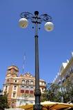 Street Lights in Cadiz Spain Stock Images