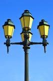 Street lights in Faro old town Stock Photos