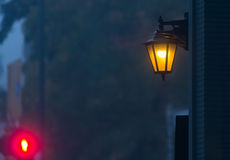 Street lights at night Royalty Free Stock Photos