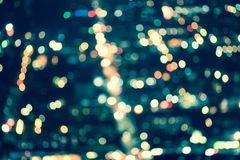 Street Lights Out Of Focus Royalty Free Stock Image