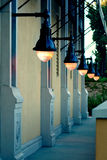 Street Ligts. Street lights and evening grace Stock Photography