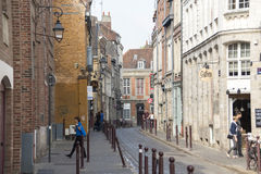 Street in Lille Stock Image