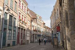 Street in Lille Royalty Free Stock Images