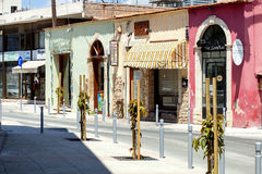 Street in Limassol Royalty Free Stock Photography