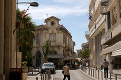 Street in Limassol Stock Image