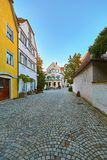 Street in Lindau Stock Photo