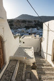 Street in Lindos Stock Image