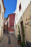 Street in Lisbon, Portugal Royalty Free Stock Photo