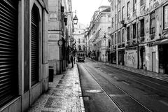 Street of Lisbon Royalty Free Stock Photography