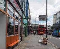 Street in London Notting Hill. LONDON, UK - CIRCA JUNE 2017: Street in Notting Hill Royalty Free Stock Photography