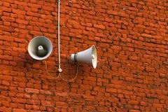 Street loudspeaker Stock Photography