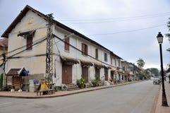 Street of Luang Prabang Stock Image