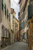 Street in Lucca, Italy Stock Photography