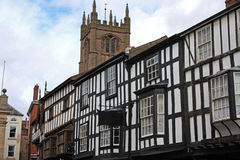 Street in Ludlow Royalty Free Stock Photos