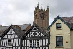 Street in Ludlow Stock Image