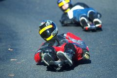 Free Street Luge 001 Royalty Free Stock Photography - 1917907