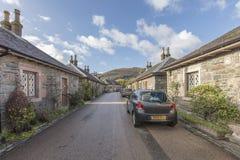 Street in Luss Scotland Royalty Free Stock Image