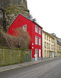 Street in Luxembourg city.  Luxembourg Stock Photos