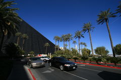 Street by Luxor Hotel Stock Photos