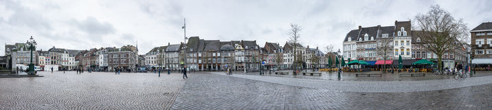 Street of Maastricht Royalty Free Stock Photography